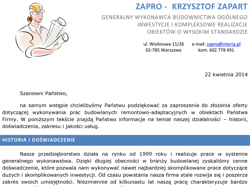 Katalog Zapro